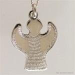 Halsband dopängen i silver