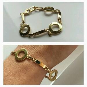 Armband i guld, ombearbetning.